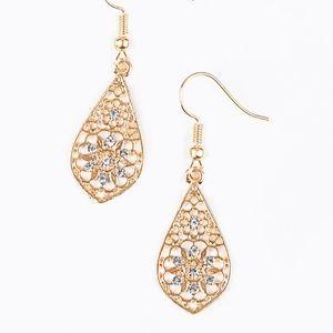 Spring Sparkle - Rose Gold Earrings